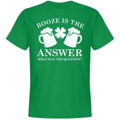 Booze Is the Answer Groom