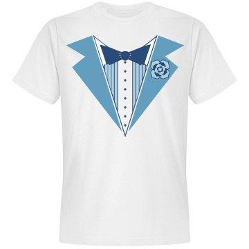 Bachelor Party Blue Tux