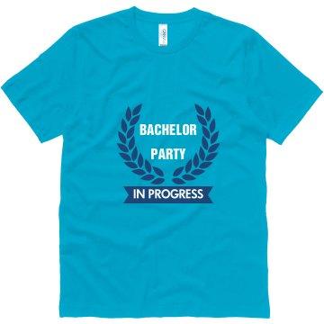 Bachelor Party in Progress