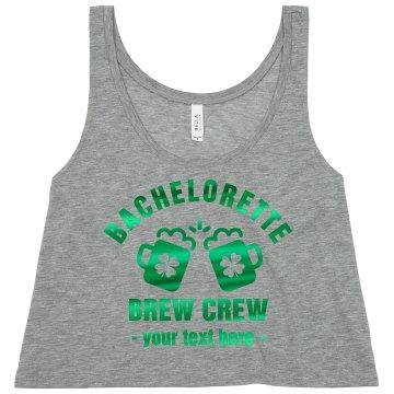 Bachelorette Brew Crew Metallic