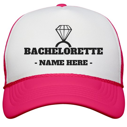 Bachelorette Diamond Custom Name