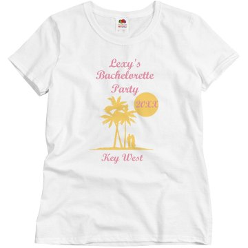 Bachelorette Key West Tee