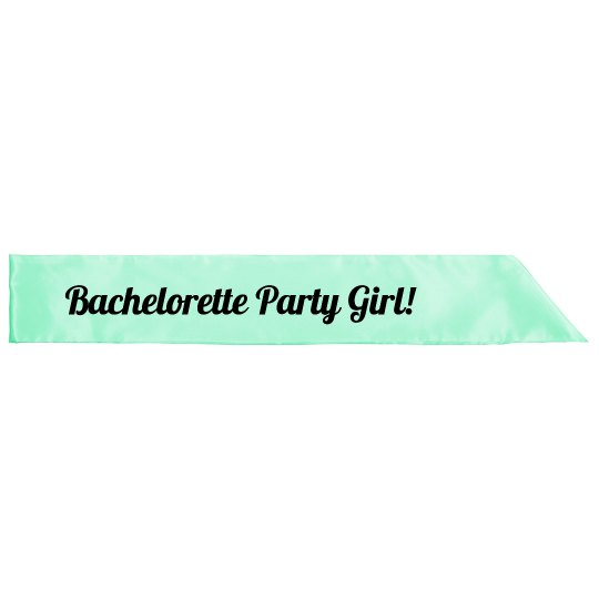 Bachelorette Party Girl