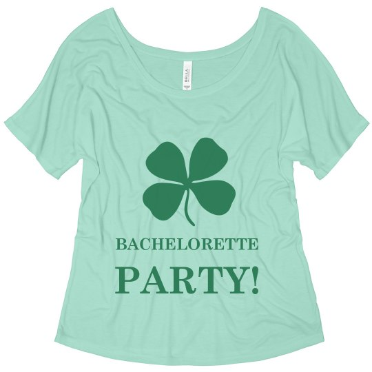 Bachelorette Party- Irish Theme