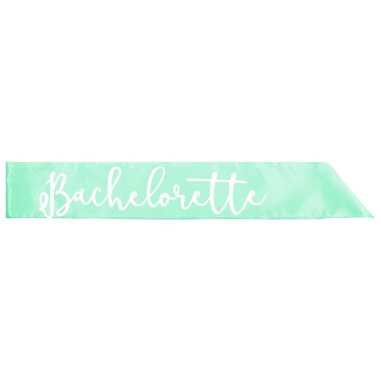 Bachelorette Sash For Parties