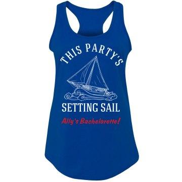 Bachelorette Setting Sail