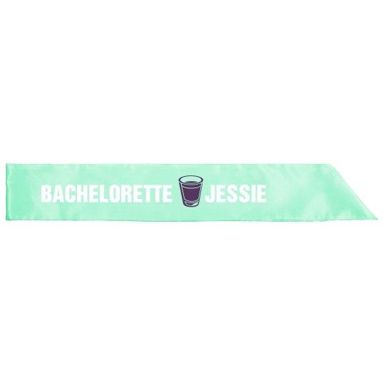 Bachelorette Shot Glass