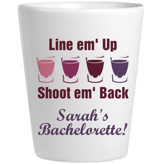 Bachelorette Shots!