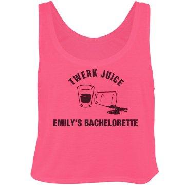Bachelorette Twerk Juice