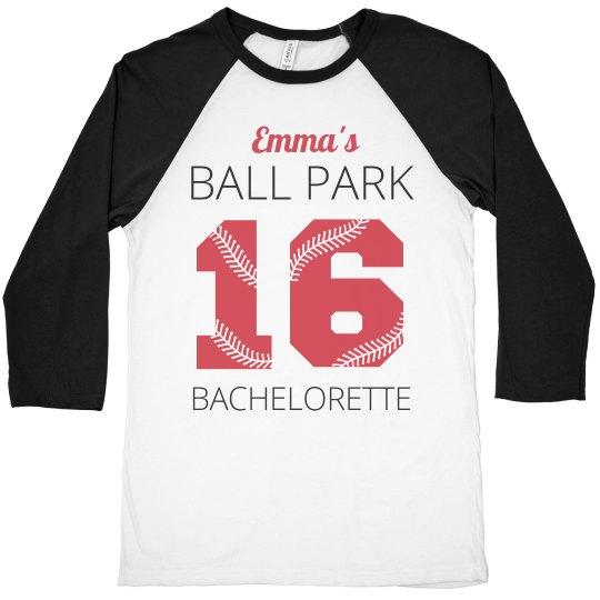Ball Park Bachelorette