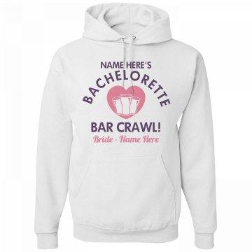 Bar Crawl Bachelorette