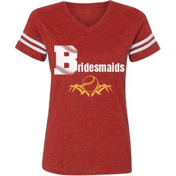 Baseball Bridesmaids
