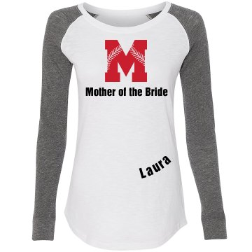 Baseball Mother of the bride tee