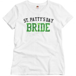 St. Patty's Day Bride T-Shirt