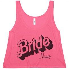 Custom Name Bride Logo