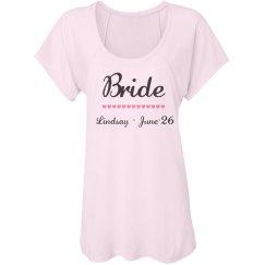 Bride With Hearts