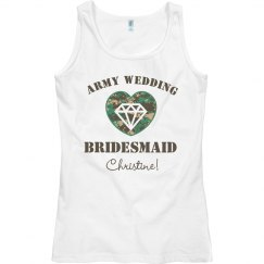 Army Bridesmaid