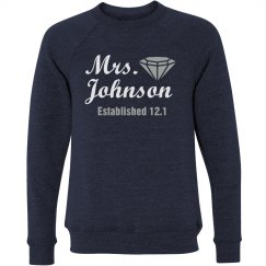 Mrs. Johnson Crewneck