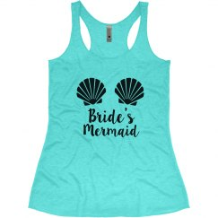 Bride's Mermaid Bachelorette Tank Tops