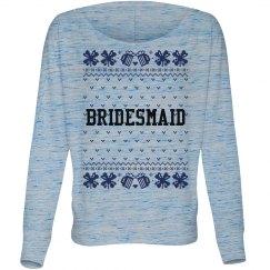 Bridesmaid Ugly Xmas Sweater