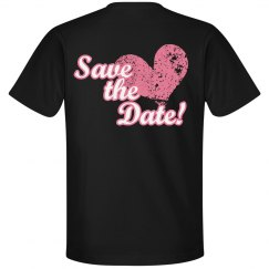 Save The Date Heart His
