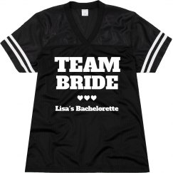 Team Bride Hearts