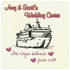 Wedding Cruise Coaster