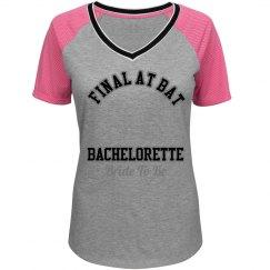 Bachelorette Baseball Tee