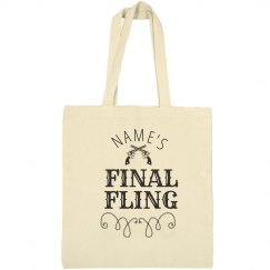 Final Fling Bride's Tote