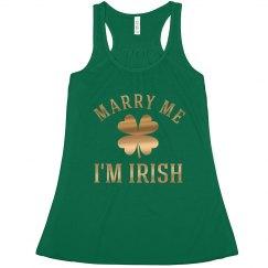 Marry Me I'm Irish