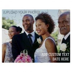 Custom Family Wedding Photo Gift