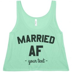 Married AF Custom Crop