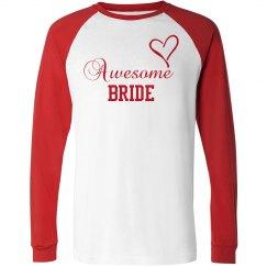 Bride Long Sleeve Tee
