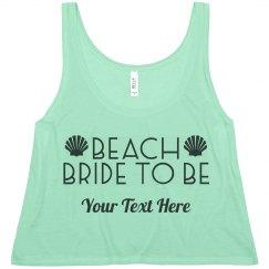 Beach Bride Seashells
