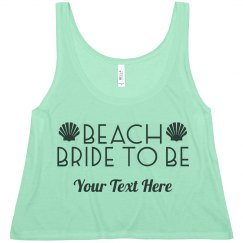 Beach Bride Seashells