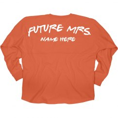 Future Mrs. Name Here Jersey