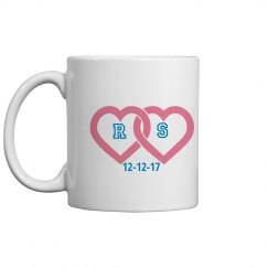 Monogram Couple Coffeemug