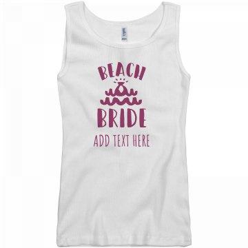 Beach Bride Custom Design