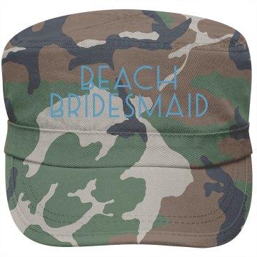 Beach Bridesmaid Cap