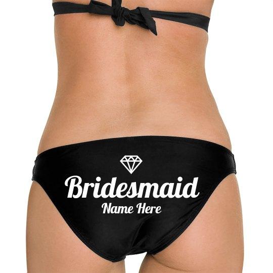Beach Bridesmaid Custom Gift