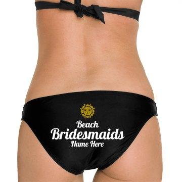 Beach Bridesmaids