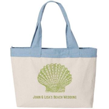 Beach Wedding Welcome