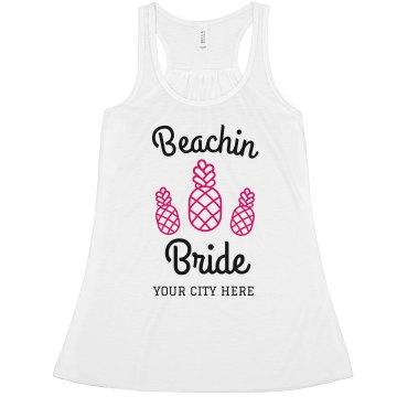Beaching Miami Bride