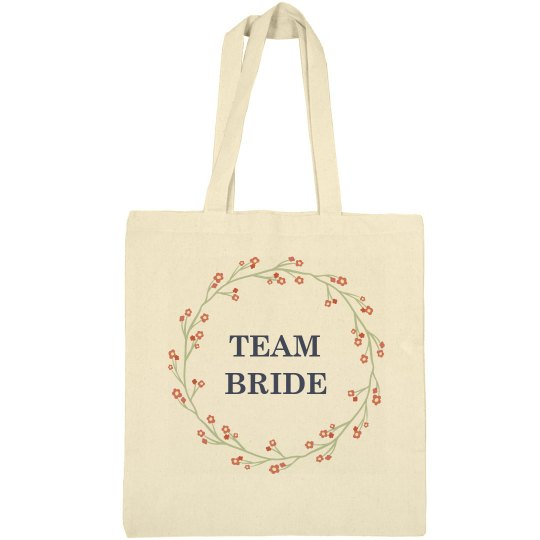 Beautiful tote bag for the Team Brides