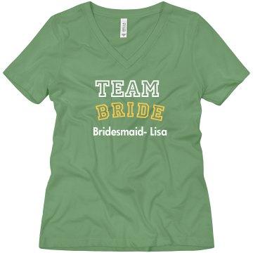 Beautiful Tshirt for Team Bride