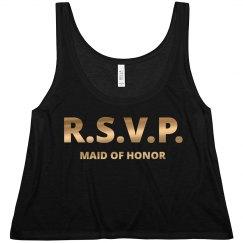 R.S.V.P MOH Gold