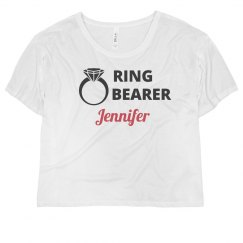 Ring Bearer Tank Top