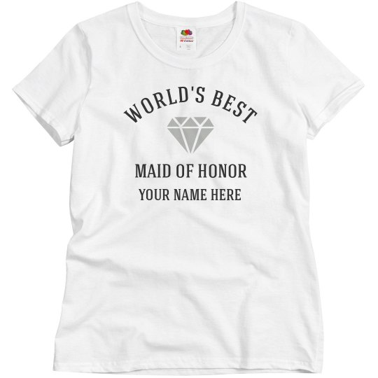 Best Maid Of Honor Tee