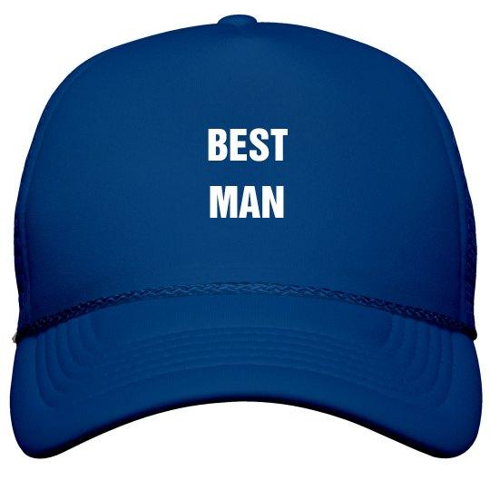 Best Man Bachelor Party Trucker Hat