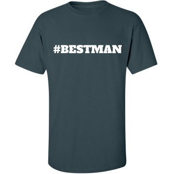 Best Man Hashtag
